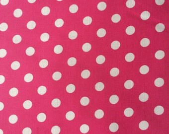 LARGE-Just Like Mommy Baby Doll Sling- White Dots on Pink-Perfect For American Girl Dolls-Free Shipping When Purchased With a Wrap