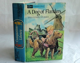 A DOG of FLANDERS Hollow Book Keepsake Box Vintage Book Cover Fake Book Secret Secret Stash Box Hidden Compartment Groomsman Wedding Wood