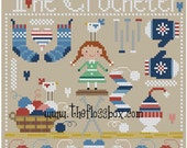 The Crocheter Cross Stitch Pattern