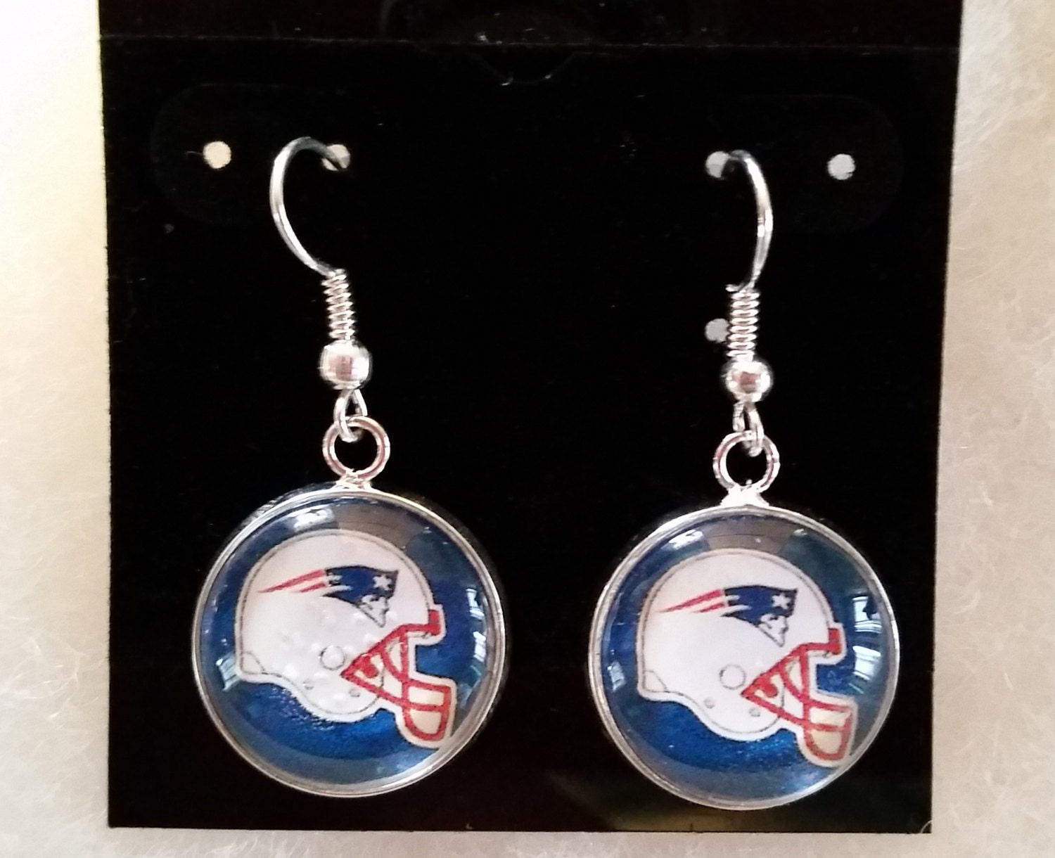 patriots earrings new patriots earrings 4537