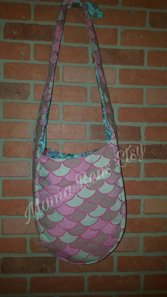 Kokadi Aspara Scales mermaid Tula Large diaper sling bag