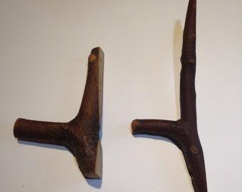 Wee Wood Hooks - Set of 2