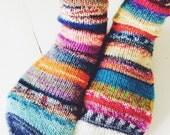 Handknitted women's socks / reserved listing for Claumatt