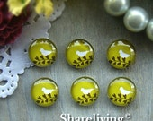 20% OFF SALE - 12mm Photo Cabochon, 8mm 10mm 14mm 16mm 20mm 25mm 30mm Round Bird glass Cabochon - BCH173L