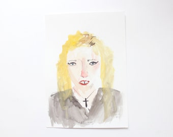 Faye Moorhouse Wonky Drawing Sale - Original art