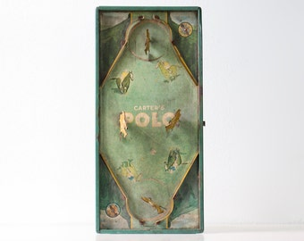 Vintage Polo Game, Carter's Polo, Horse Game, Equestrian
