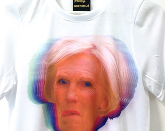 MARY BERRY Collage T-Shirt