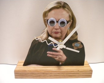 Hillary Clinton Clock