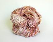 BISOU, grey label merino alpaca hand dyed chunky weight yarn