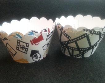Custom Movie Cupcake Wrappers (12)