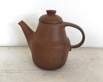 Mid Century Nils Kahler Denmark  Pottery Tea Pot