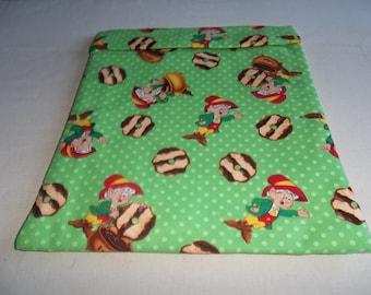 Microwave, Keebler Elf, Baked Potato Bag, Fudge Stripe, Cookies, Potato Sack, Microwave Potato Bag, Kitchen Utensil, Handmade, ALL Cotton