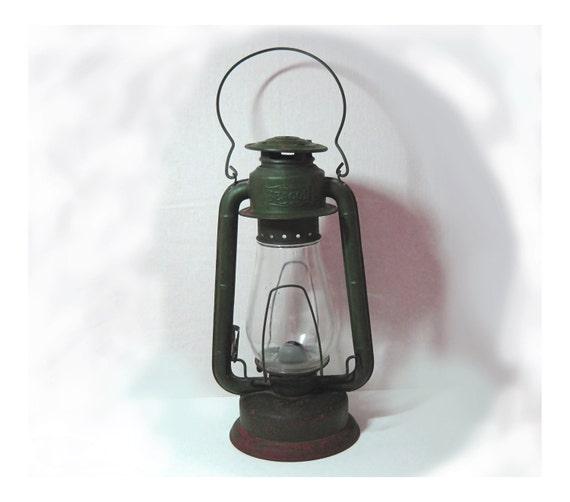 Antique Beacon Railroad Kerosene Oil Lamp Lantern Smp Quality