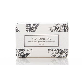 SALE - Shea Butter Soap - Sea Mineral
