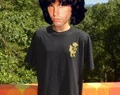 vintage 90s tee shirt florida GATORS high school BETA club t-shirt XL Large black gold glitter