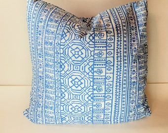 Cobalt Blue Pillow Cover, Throw Pillow Cover Decorative Pillow Cushion Covers Premier  Blue on White Bird Silhouette Fynn Susette Cobalt