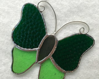 Stained Glass Ornament - Butterfly