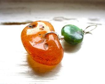 Serpentine Agate Gemstone Pendant,  Serpentine, Agate, Birthstone Pendant Necklace, Handmade Stone Jewelry, Stone Pendant, Gemstone Jewelry