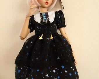 Dollfie BJD Mini Fée Raspberry Galaxy dress
