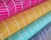 Boho Fabric, Herringbone Fabric, Arrow Fabric, True Colors by Joel Dewberry, Quilting Bundle, Wedding Fabric, Arrow, Fabric Bundle of 4