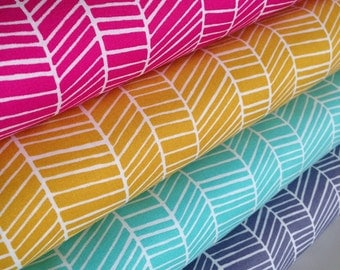 Boho Fabric, Herringbone Fabric, Arrow Fabric, True Colors by Joel Dewberry, Quilting Bundle, Wedding Fabric, Arrow, Fabric Bundle of 4
