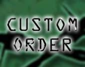 Custom Order For Ruby Machine Only Please