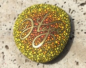 Inspirational Word Hope Stone / Painted Rock / Written on Stone Series / Hand Painted Stone / Leslie Peery