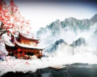 Pagoda Perfume Oil - Orange Blossom Perfume Musk Incense Amber Vanilla Perfume Temple Incense Perfume
