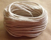 Candle Wick - Cotton Wicking - 10 Yards 30 Feet - 36 Ply Flat Braid - Pillar Candle Wicking