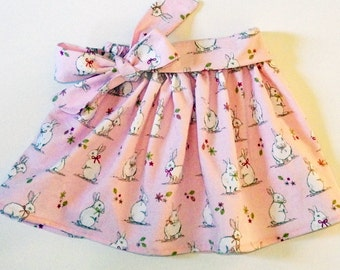 Girl's Rabbit Skirt / Easter Clothing / Children's / Kids / Baby Clothes - Pink