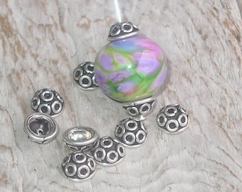 Bali Sterling Silver Bead Caps