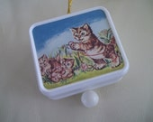 Vintage Pull String Music Box Made in Japan, Baby Music Box, Pull Cord Japan Music Box
