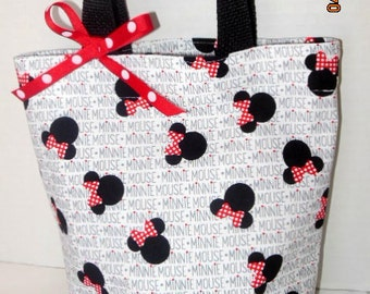 Minnie Mouse Purse/Gift Bag/Tote/Party Favor