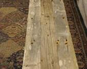 Driftwood Bench (74 x 15 x 17H)