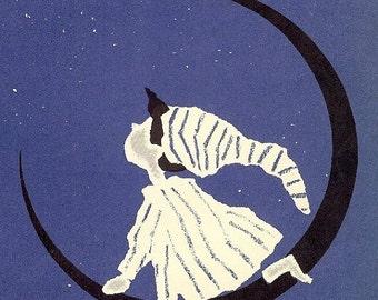 HUGE SALE Vintage 1962 Twinkle Twinkle Little Star Sheet Music, Piano Music, Stars, Moon, Nursery Rhyme, by David Kaehenbuehl, Retro 1960s N