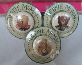 VINTAGE - Debbie Mumm Drawer Pull Knobs - Teddy Bear Design