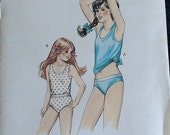 Kwik Sew Girls Tank Top Panties Pattern