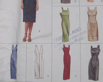 Vogue Easy Options Dress Pattern 2446