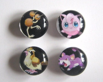 Pokemon GO Magnets Set of Four