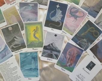 Resurrection by Beth Seilonen Majors Only Dragon Tarot Deck LTD 50 signed
