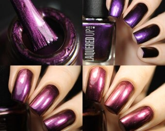 Dazed// Multichrome Purple Nail Polish// Handmade Lacquer//Vegan//Cruelty Free// Vegan