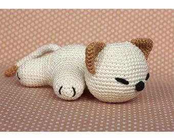 Crochet Pattern cute Kitty Cat amigurumi PDF