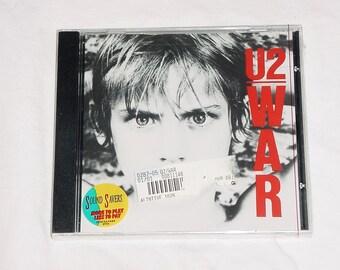 U2 War CD Sealed