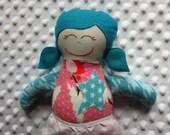 Rosalie Small Handmade Fabric Baby Doll