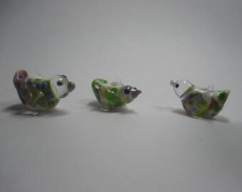 3 Little Birds (3 bead set), SRA