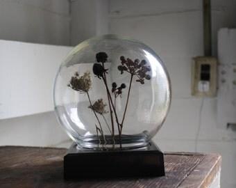 vintage display globe