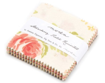 SALE! - Strawberry Fields Revisited (20260MC) by Fig Tree and Co. - Mini Charm Pack