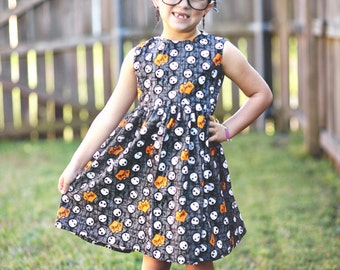 Nightmare Before Christmas Dress - Size 2T-6