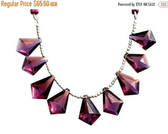 55% OFF SALE 9 Pcs 4 Match Pair 1 focal AAA Plum Quartz Faceted Tie Shaped Fancy Briolettes Size 20x15 - 22x16mm Approx