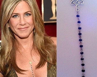 Celtic Necklace, Necklace Of Jennifer Aniston,Celebrity Inspired Necklace